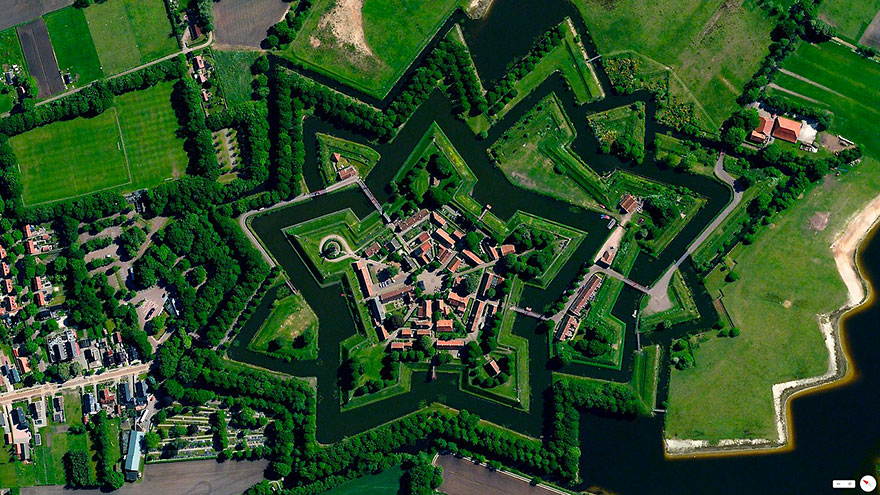 Bourtange_satellite_image